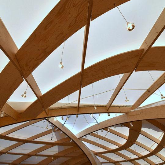 Nachhaltiges Bauwerk auf der Frankfurter Buchmesse 2018