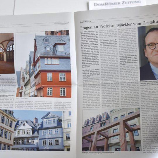 DomRömer Zeitung Nummero Finale