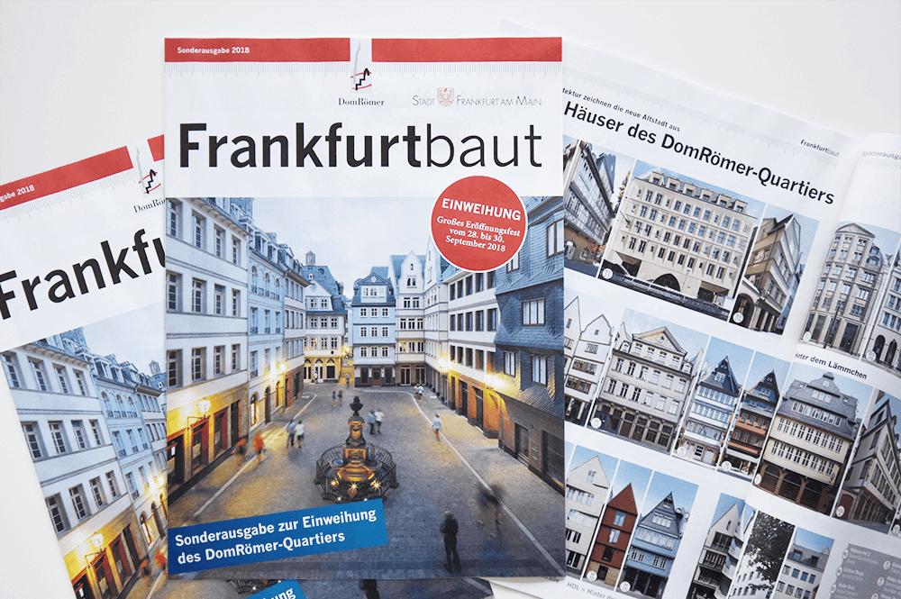 Frankfurtbaut-Sonderausgabe zur Eröffnungsfeier der neuen Frankfurter Altstadt